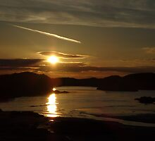 Beach Sunset by CSArtwork101