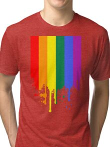 Rainbow Flag Tri-blend T-Shirt