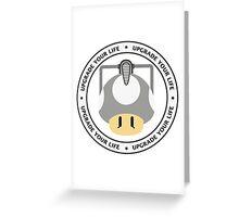 CyberShroom Greeting Card