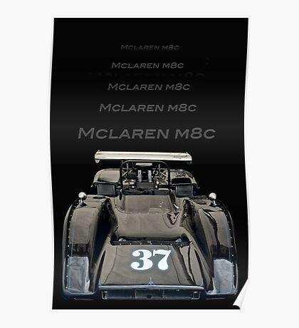 1969 McLaren M8C Poster