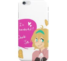 Aph Belgium and Waffle Hearts iPhone Case/Skin