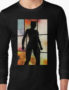 Purrfect Stand Long Sleeve T-Shirt