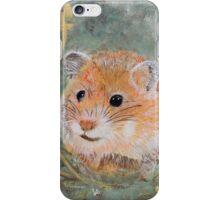 Golden Hamster iPhone Case/Skin