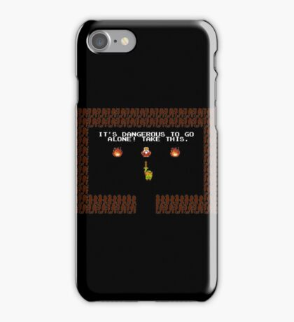 Legend of Zelda: Take this! iPhone Case/Skin