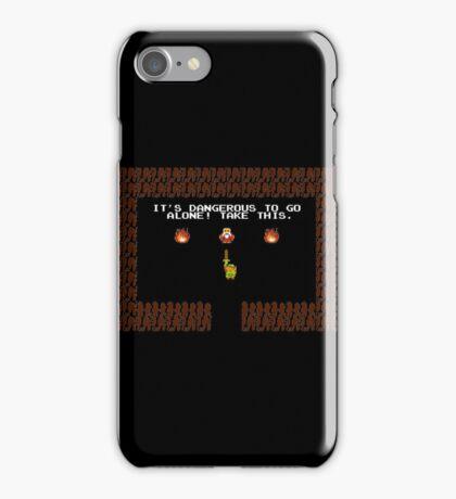 Legend of Zelda: Take this! iPhone Case/Skin