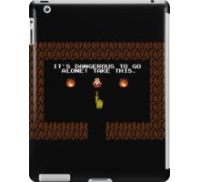 Legend of Zelda: Take this! iPad Case/Skin