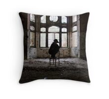 .the cage Throw Pillow