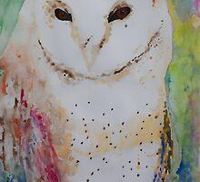 Barn Owl  by Elcee