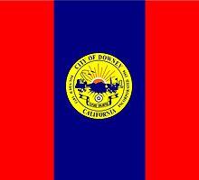 Flag of Downey  by abbeyz71