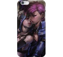 Jinx and Vi Painting - League of Legends iPhone Case/Skin