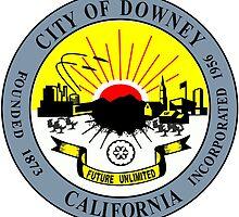 Seal of Downey by abbeyz71