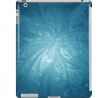 Cool Blue ice iPad Case/Skin