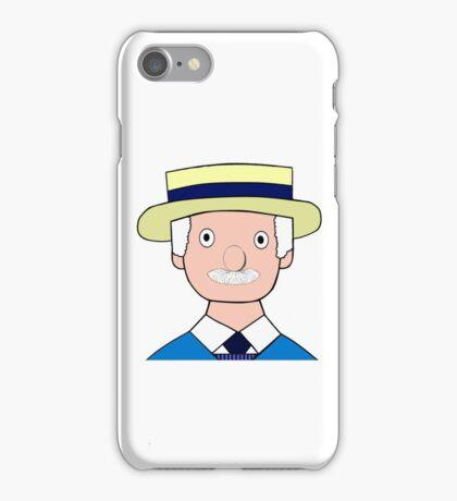 Mr Carraway the Fishmonger iPhone Case/Skin