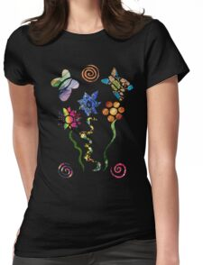 Cut and Paste Womens Fitted T-Shirt