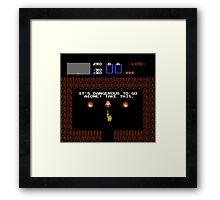 Legend of Zelda: Take this! (Full) Framed Print