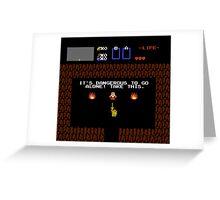 Legend of Zelda: Take this! (Full) Greeting Card