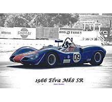 1966 Elva MK8 SR II Photographic Print