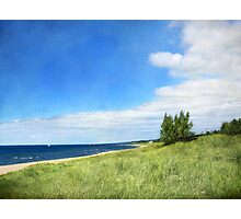 Shoreline Curve Photographic Print