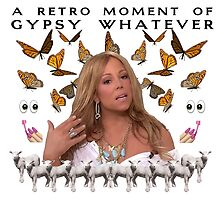 Mariah Carey 'A Retro Moment of Gypsy Whatever' Print by chasinglights
