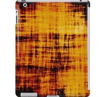 Grunge Orange Brown Paper Abstract iPad Case/Skin