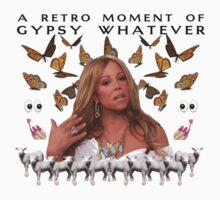 Mariah Carey 'A Retro Moment of Gypsy Whatever' Print T-Shirt