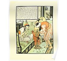 The Forty Thieves by Walter Crane 1898 7 - Open Sesame Poster