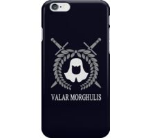Game of Thrones: The Faceless Men (Valar Morghulis) iPhone Case/Skin