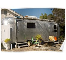 airstream trailer Poster