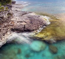Cave Point Dream by Kenneth Keifer