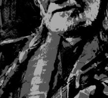 Willie Nelson in B&W Sticker