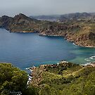 Portman Bay, Costa Calida, Spain by Squealia