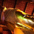 Reclining Buddha by Bobby McLeod