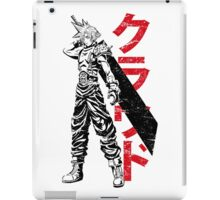 Cloud Strife FF7 Final Fantasy 7 iPad Case/Skin