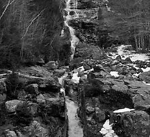 White Moutains Waterfall by JohnDoe6
