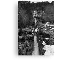 White Moutains Waterfall Canvas Print