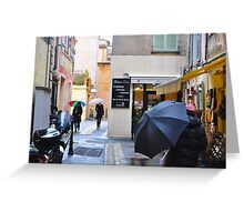 COIFFURE-FEMMES-HOMMES (CARD) Greeting Card