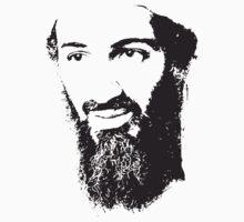 Osama Bin Laden, Silhouette by tshirtdesign