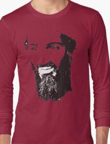 Osama Bin Laden, Silhouette Long Sleeve T-Shirt