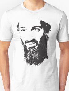 Osama Bin Laden, Silhouette Unisex T-Shirt