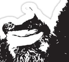 Osama Bin Laden, Silhouette Sticker