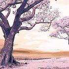 Pink Landscape II by Gal Lo Leggio