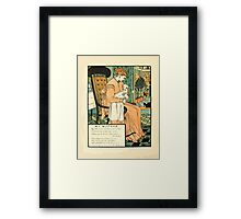 The Buckle My Shoe Picture Book by Walter Crane 1910 64 - My Mother Framed Print
