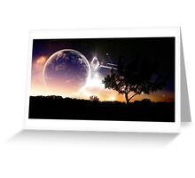 Planet - Hearth Greeting Card