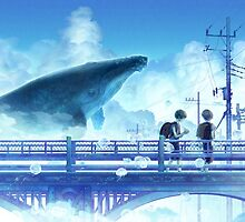 The whale by Goku-Art