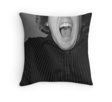 Scream Throw Pillow