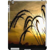 Backlit Wheat Nature by Carol Sue iPad Case/Skin