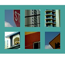 Art Deco in the traffic  Photographic Print