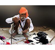 RAJASTHANI ARTISAN - BUNDI Photographic Print