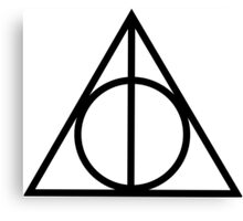 Triangle Potter Canvas Print