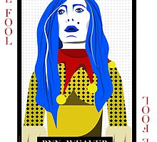 Ryn Weaver - The Fool Playing Card by treybrown
